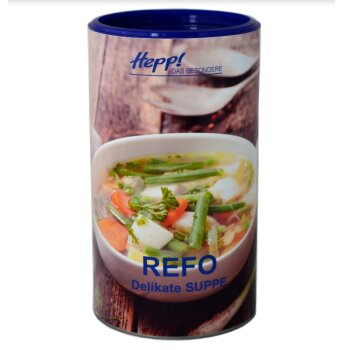 Hepp Refo Delikate Suppe (1000 g/42 l)